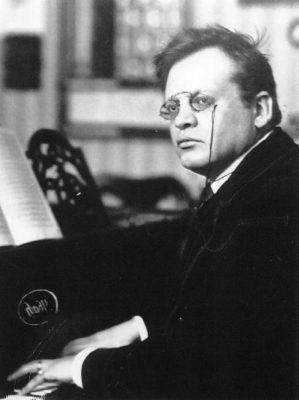 il compositore tedesco Max Reger