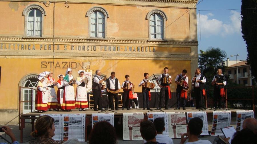 Serata in stazione Italia Nostra