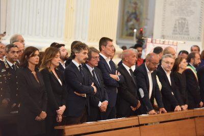 Il ministro Maria Elena Boschi a fianco del senatore Francesco Verducci