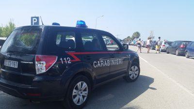 carabinieri lungomare