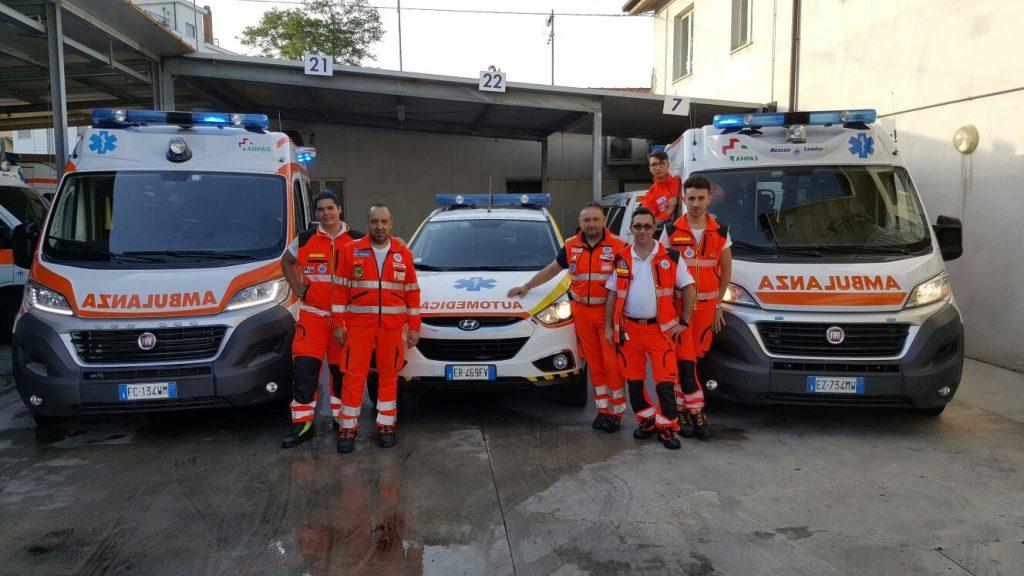 croce azzurra ambulanze