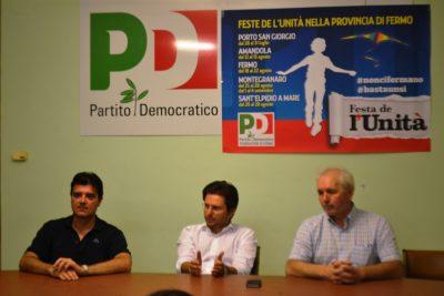 Andrea Di Virgilio, Paolo Nicolai e Carlo D'Alessio (da sx)