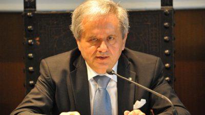 Graziano Di Battista, presidente della Camera di Commercio di Fermio e di Unioncamere Marche