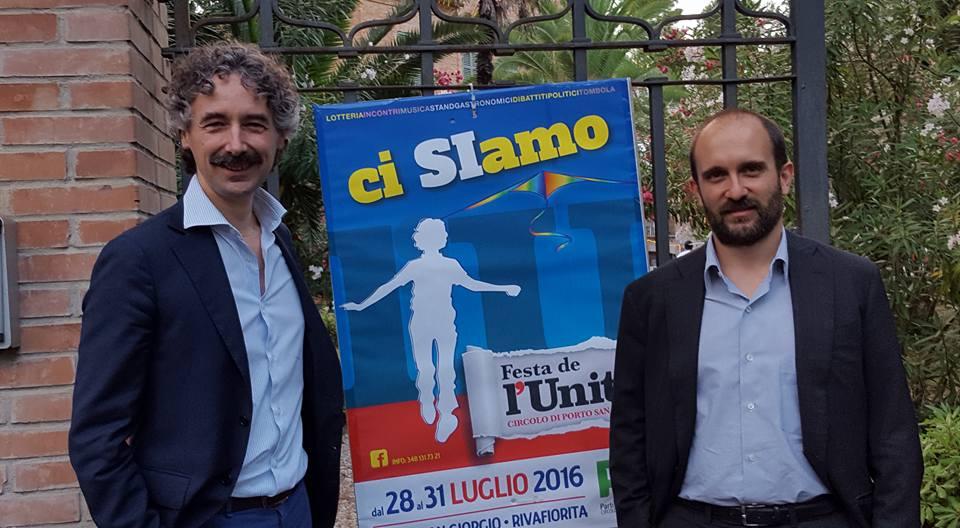 festa unità Verducci Orfini
