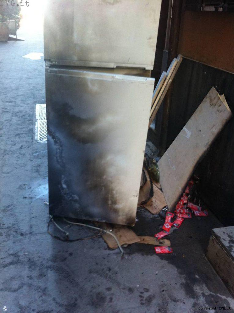 frigo bruciato