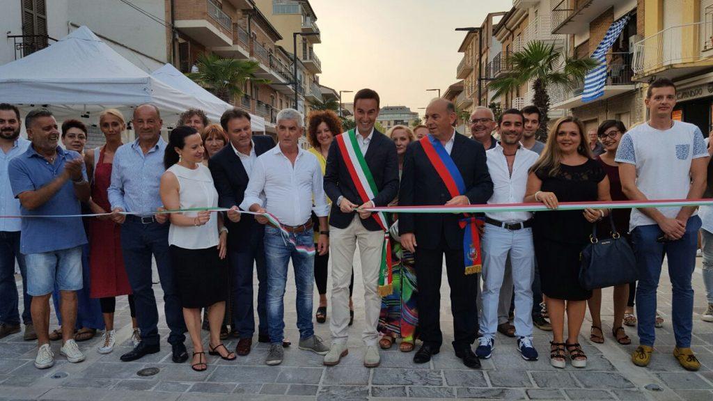 inaugurazione via Porto Sant'Elpidio