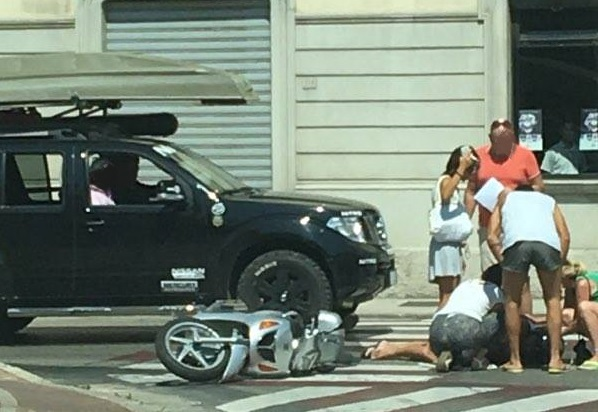 incidente scooter 3