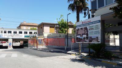 lavori piazza della stazione