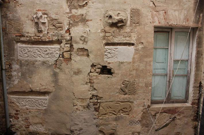 muro con pietre