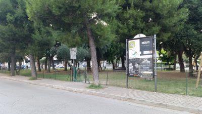 Piazza Dante nel quartiere Borgo Rosselli