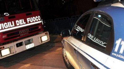 polizia e vigili del fuoco