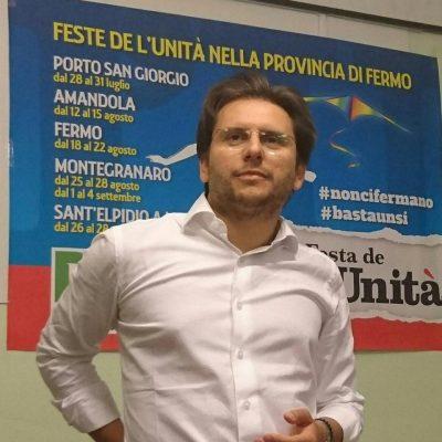 Paolo Nicolai, segretario provinciale PD Fermo