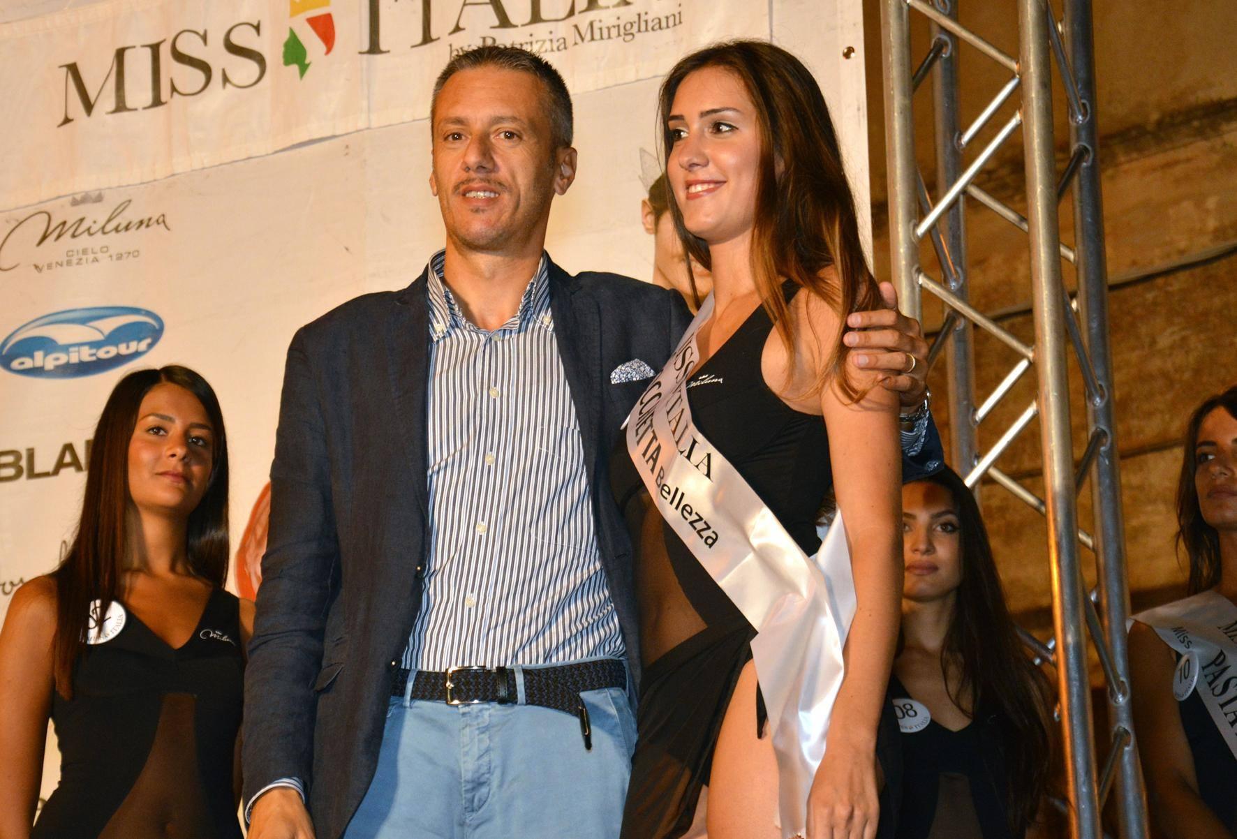 Angelica Belli, seconda classificata a Miss Cinema Marche