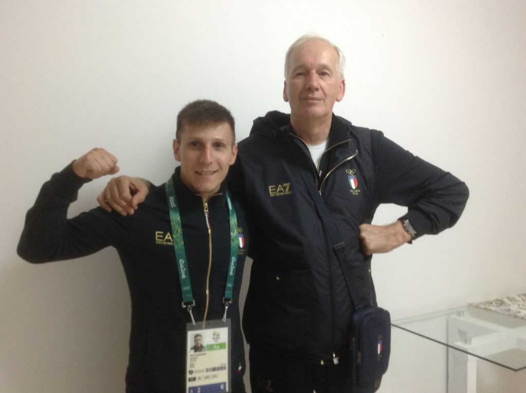 Con Mirko Scarantino campione europeo 2016 sollevamento pesi
