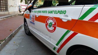 ambulanza automedica croce verde porto sant'elpidio