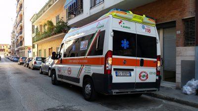 ambulanza croce verde porto sant'elpidio