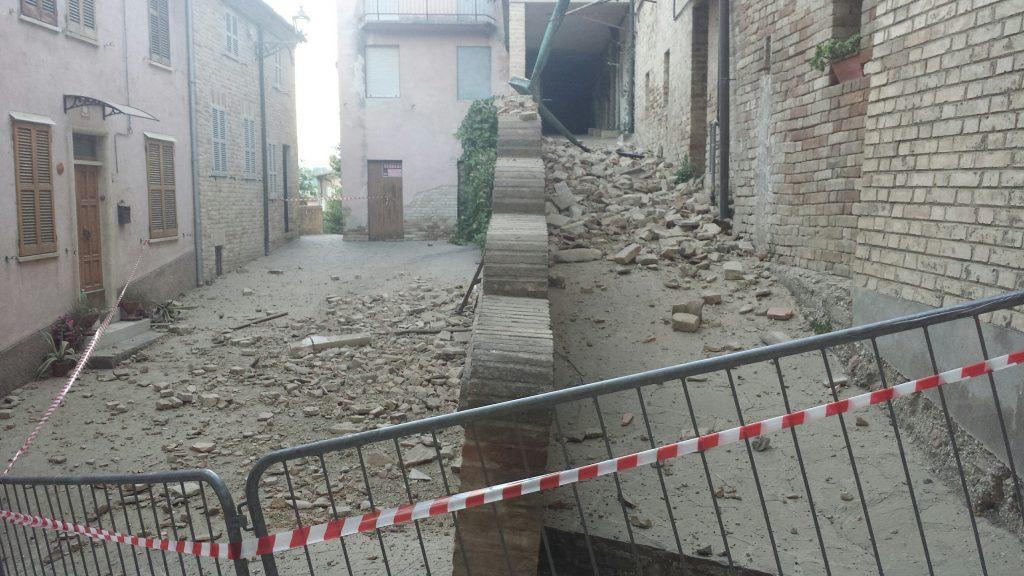 Terremoto Monsampietro Morico
