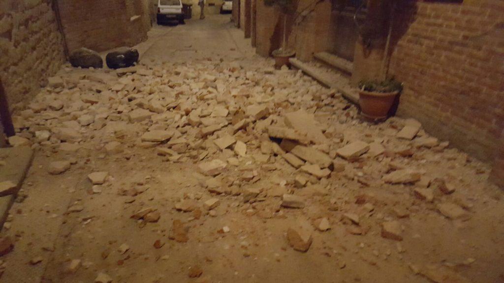 Amandola terremoto