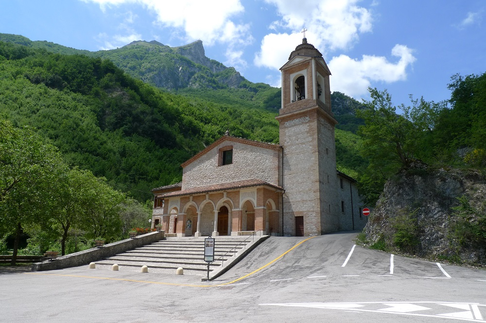 Chiesa Ambro santurio madonna dell'Ambro