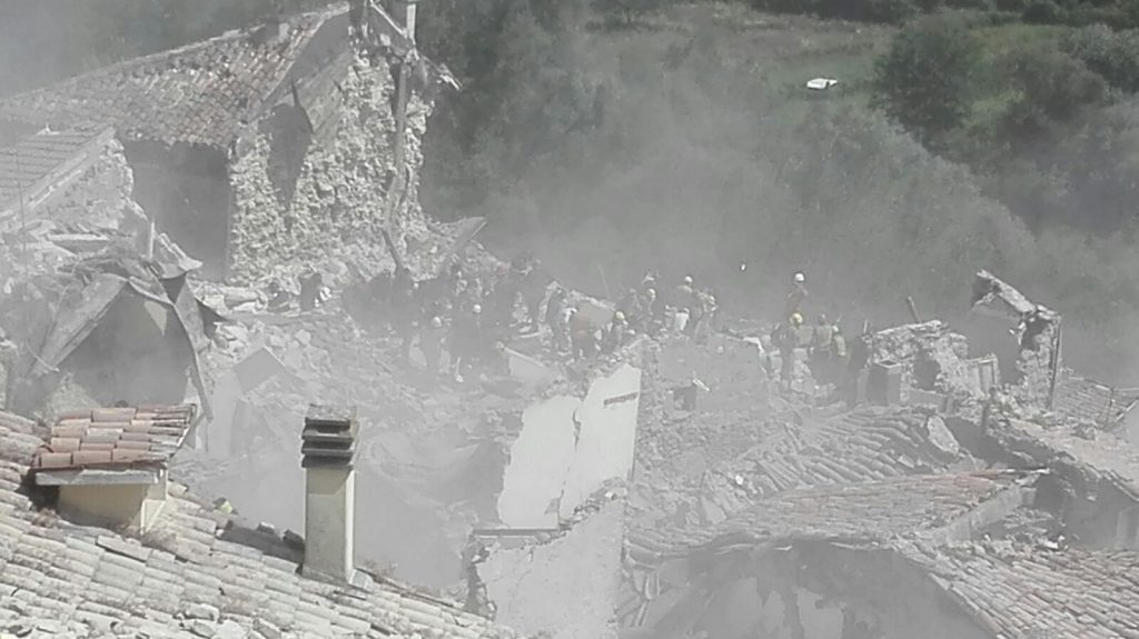 Croce Azzurra Porto San Giorgio Terremoto 2