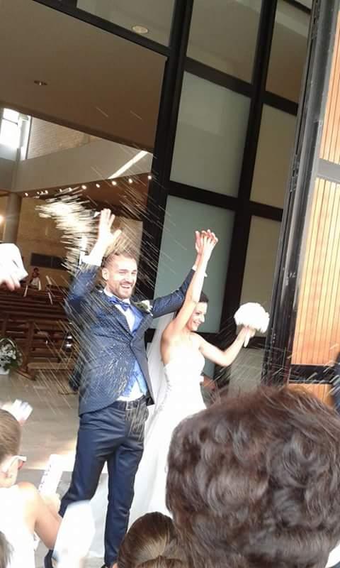 Debora Stangarone e Andrea Calisti matrimonio