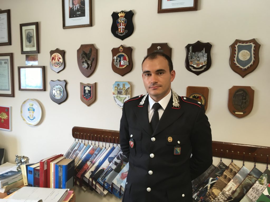 tenente Orsini Carabinieri Radiomobile