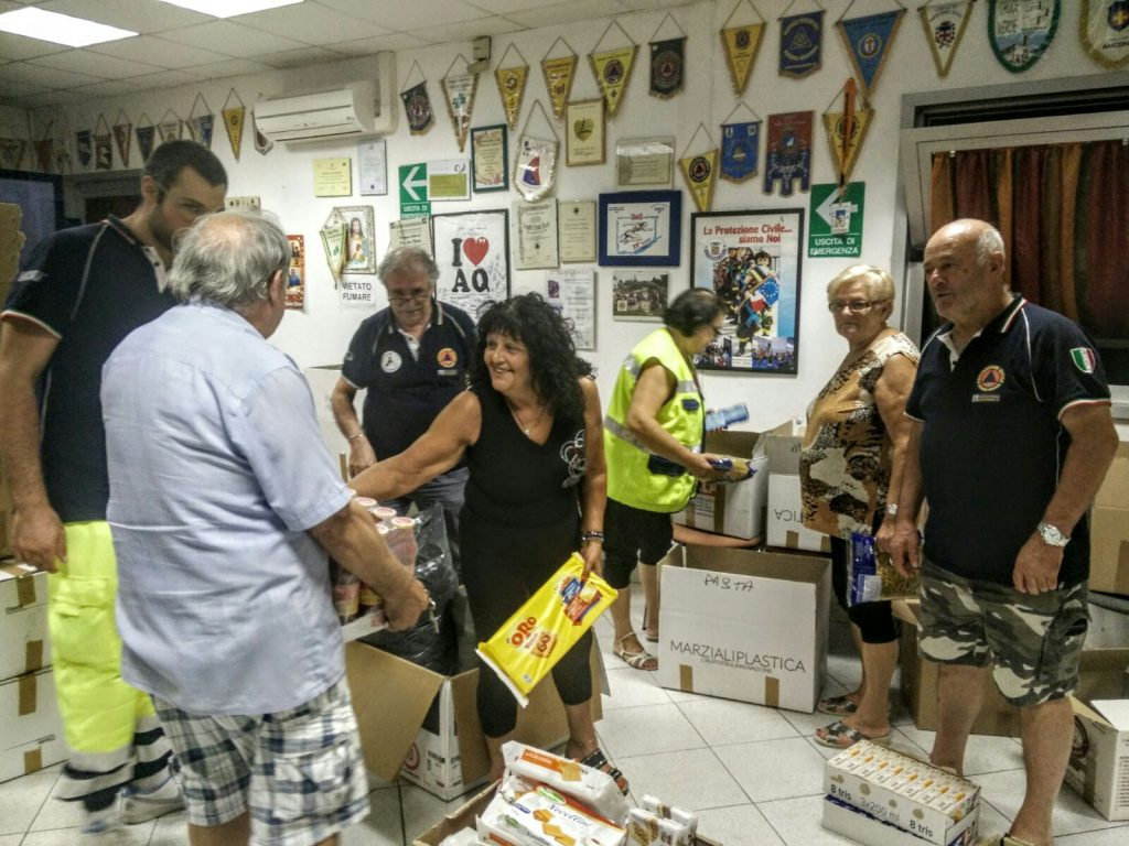 Porto Sant'Elpidio raccolta terremoto 5