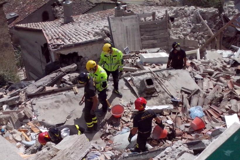 Protezione Civile Fermo Pescara del Tronto 1