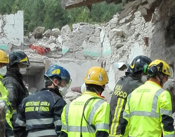Protezione Civile Fermo Pescara del Tronto 2