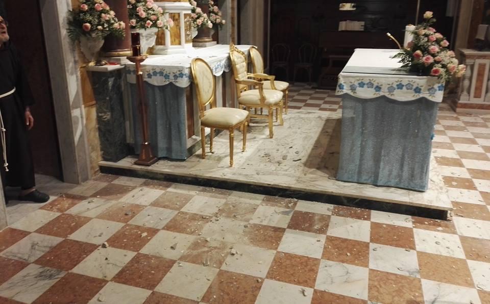 Terremoto Ambro Santuario