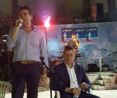 Il segretario Pd, Andrea Di Virgilio con l'on. Paolo Petrini