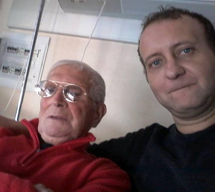 Il consigliere Falzolgher con il padre Pio