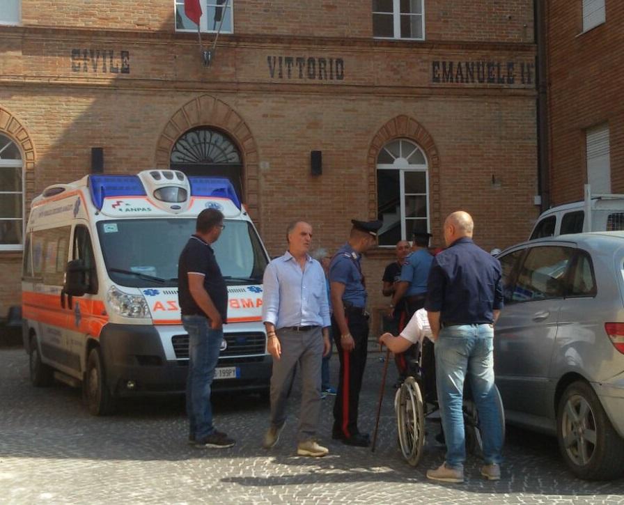 foto blocco ospedale Marinageli