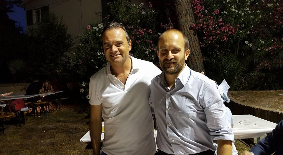 Il sindaco Loira e il presidente del Pd Orfini