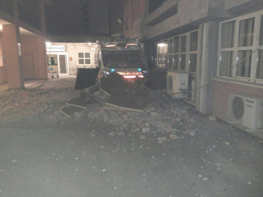 ospedale Amandola crollo 2