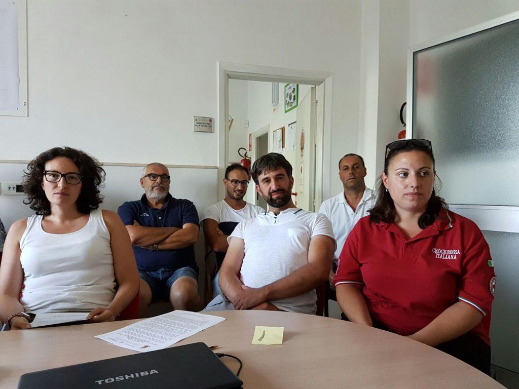 protezione Civile ingrid luciani, Francesco Lusek ludovica lignite