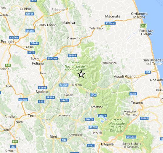 terremoto sibillini