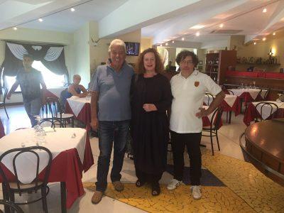 Francesco Sanavio e Nicola Convertino con Sarah Jane Morris