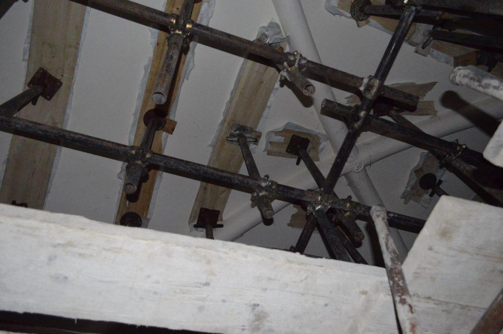 Campanile Amandola terremoto lavori 3