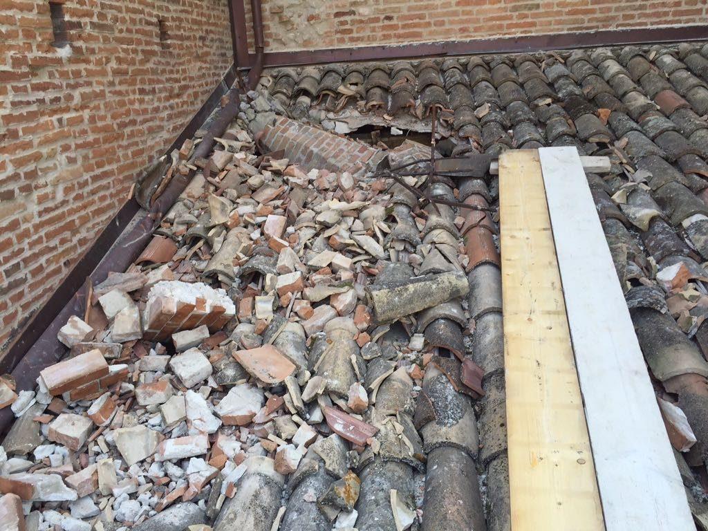Campanile Amandola terremoto lavori 4