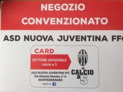 Convenzione Nuova Juventina Calcio a 5