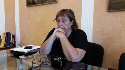 La dirigente scolastica Daniela Medori
