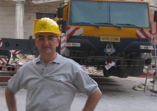 Il presidente FedIng Marche Pasquale Ubaldi