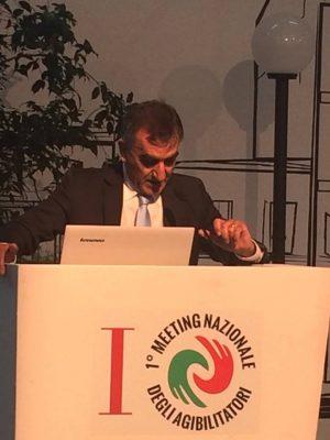 Il presidente Pasquale Ubaldi