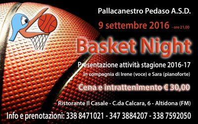Invito Basket Night 2016 aggiornato