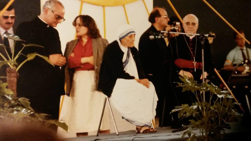 L'incontro a Porto Sant'Elpidio nel 1985