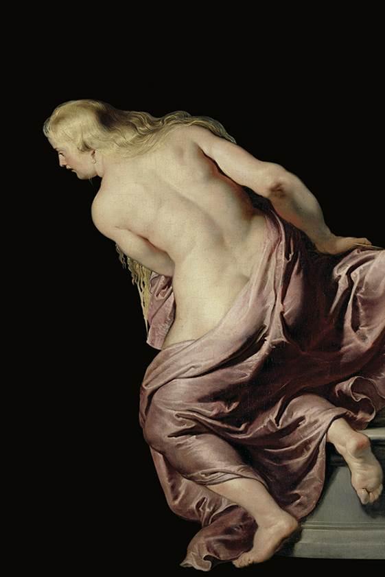 Pietro Paolo Rubens La scoperta di Erittonio fanciullo, particolare