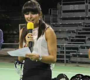 Silvia Remoli, conduttrice di Buon Campionato