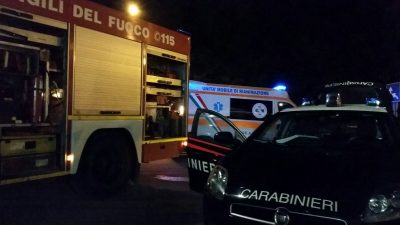 carabinieri-vigili-del-fuoco-ambulanza-notte