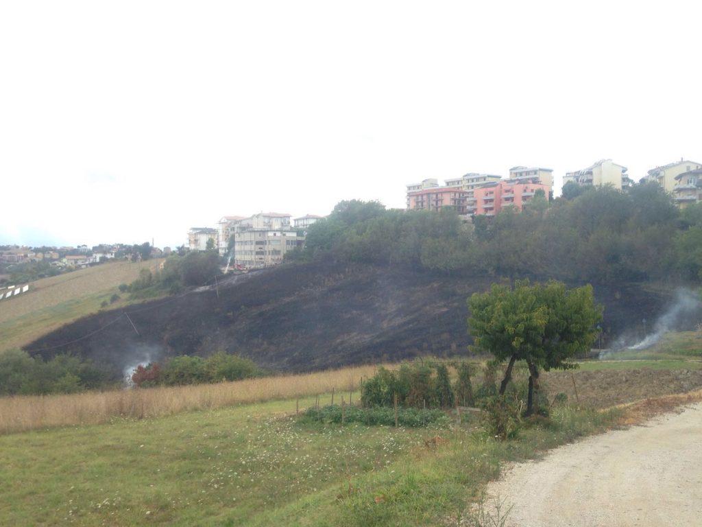 incendio Montegranaro